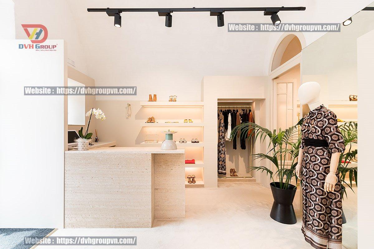 Cách bố trí thiết kế cửa hàng đẹp, tiện dụng
