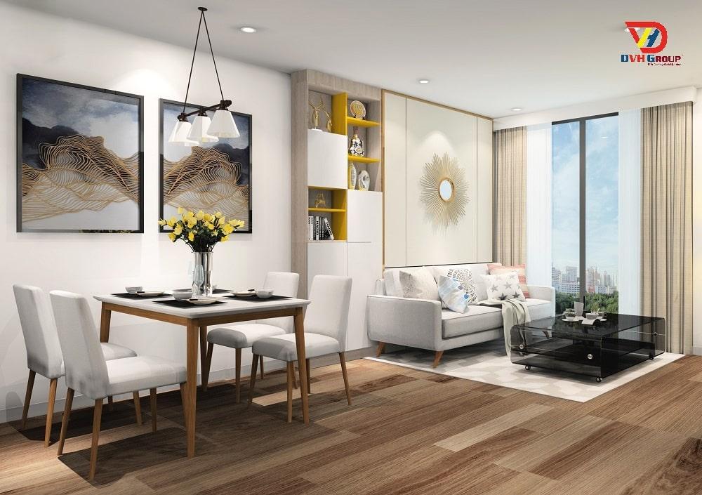Thiết kế nội thất căn hộ chung cư tại Bình Dương