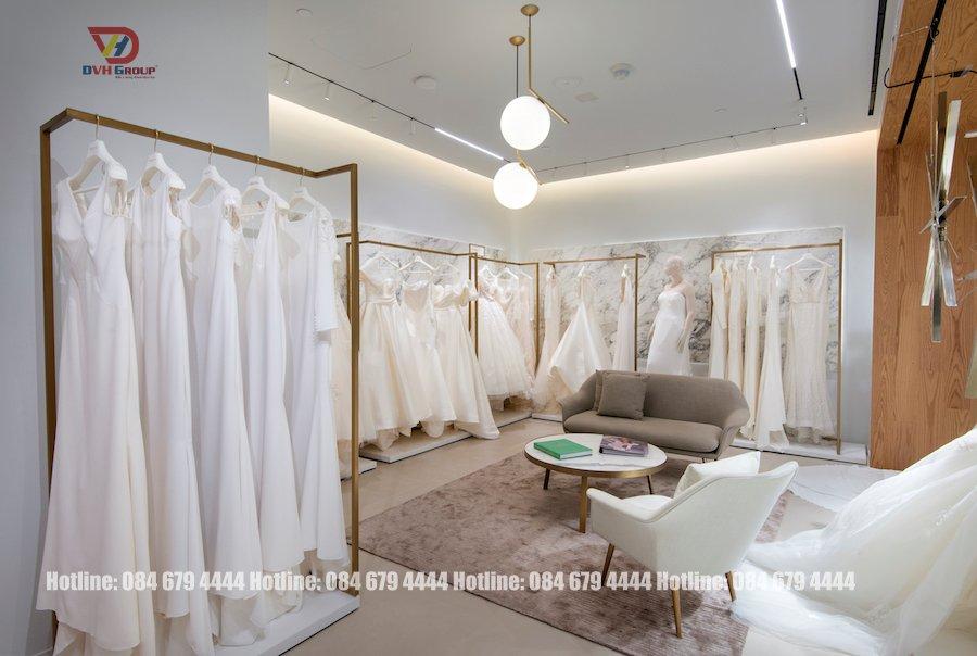 Thiết kế tiệm cưới đẹp sang đến hoàn mỹ theo phong cách Orlando