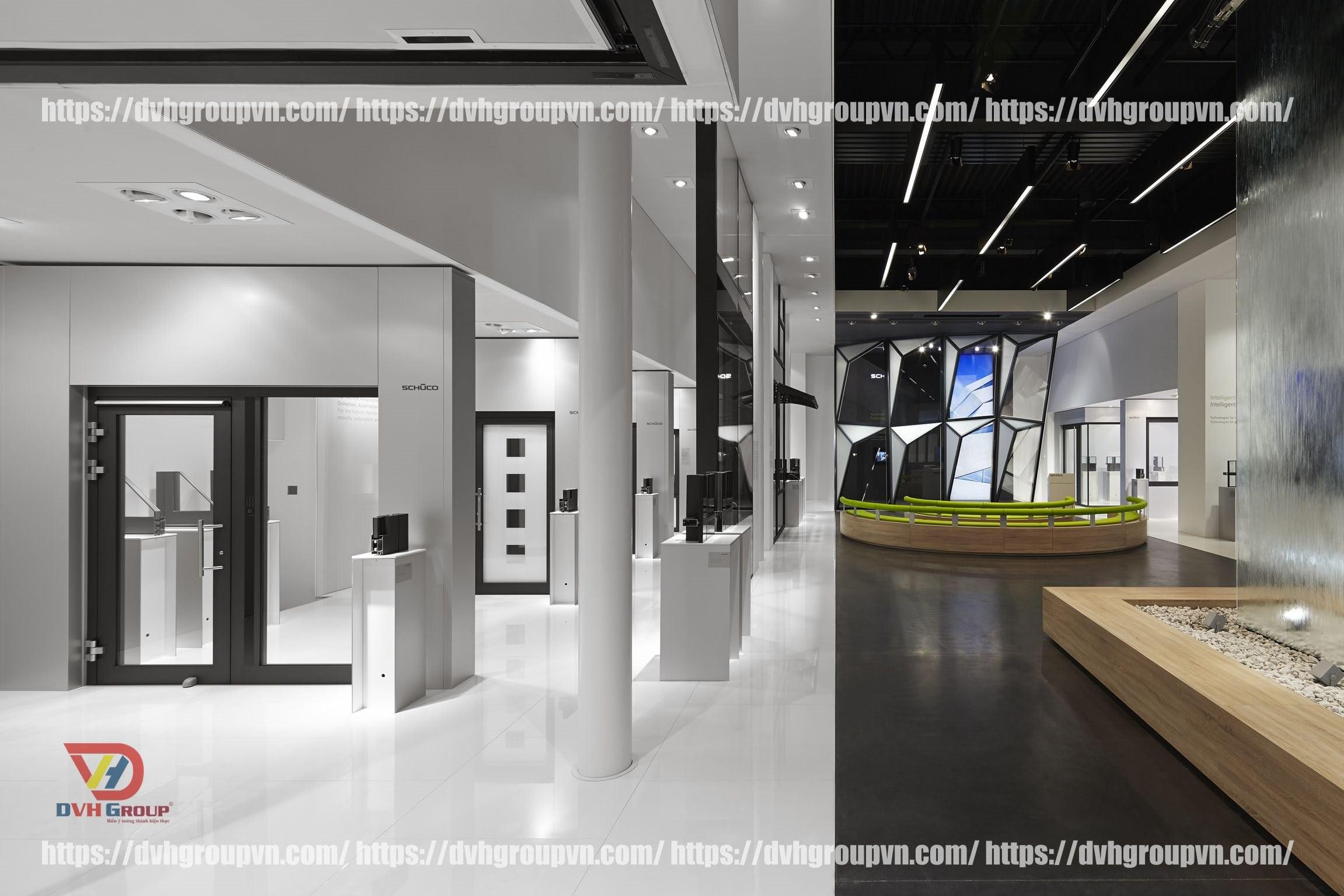 Nội thất DVHGroup - chuyên thiết kế nội thất showroom