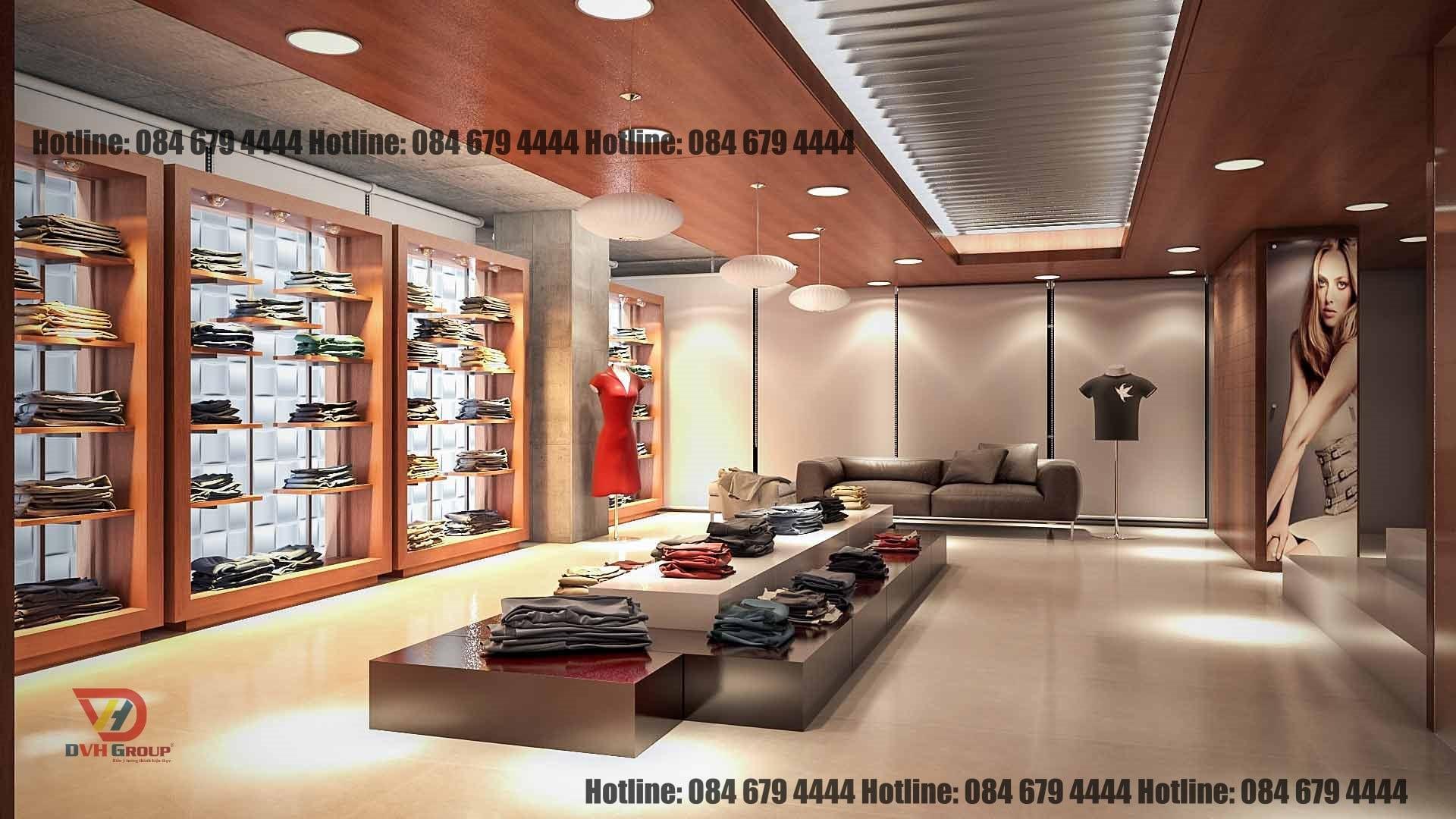 Thiết kế nội thất showroom cửa hàng tại quận 5