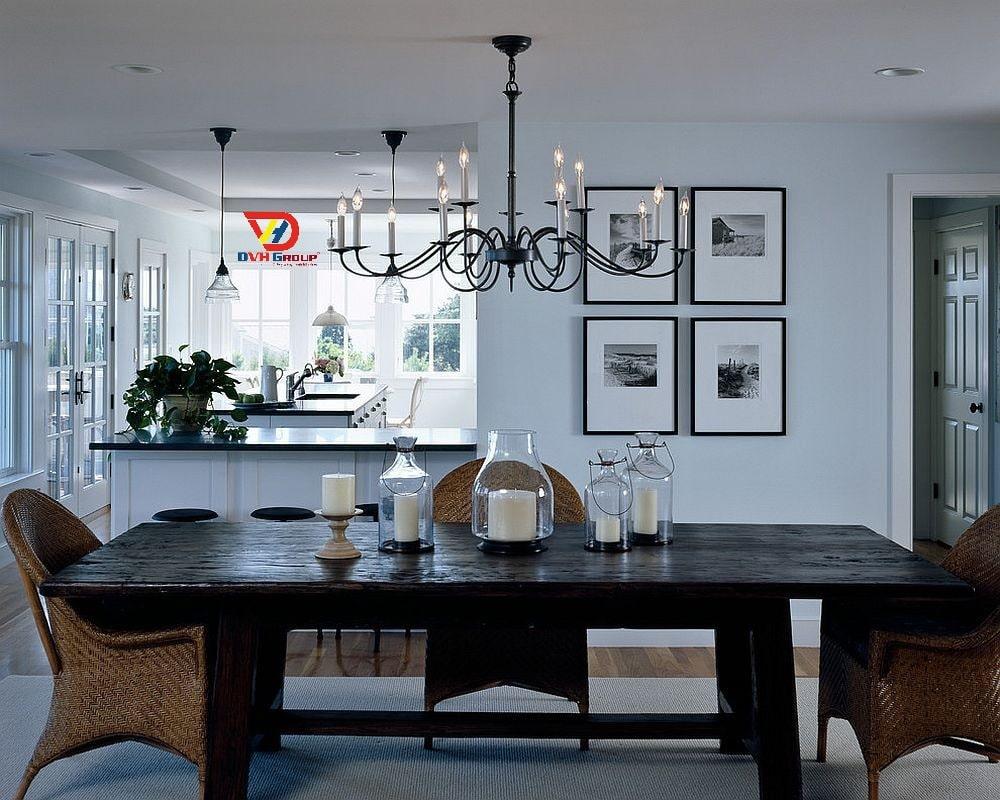 Thiết kế nội thất căn hộ 2021 nổi bật là sự đơn giản, tone trầm