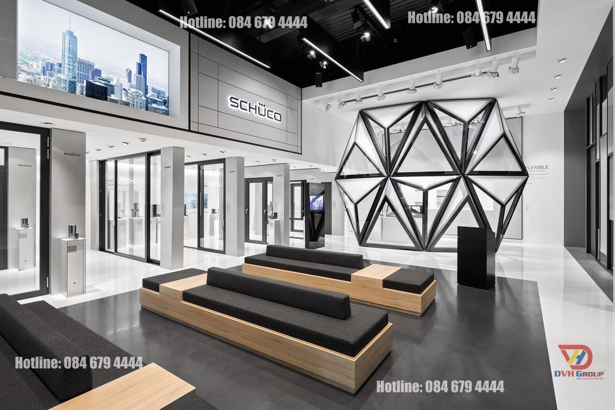 Thiết kế nội thất showroom cửa hàng tại quận 4