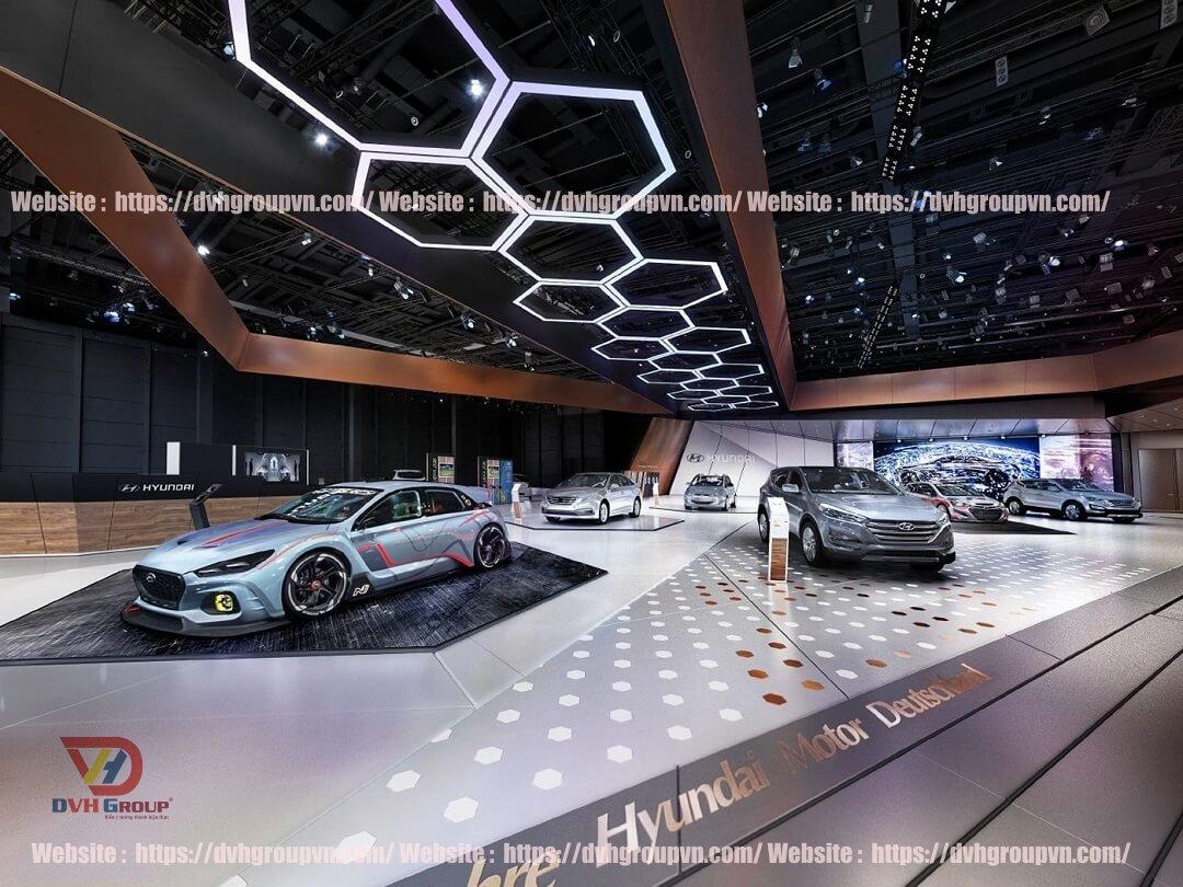 Địa điểm đặt showroom ô tô