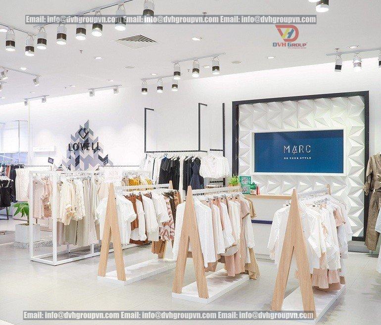 Những mẫu thiết kế nội thất showroom cửa hàng cửa hàng, shop đẹp hút mắt
