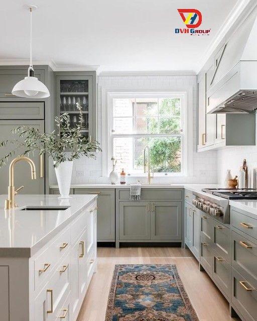 Cách bố trí nội thất nhà bếp kiểu Galley / song song