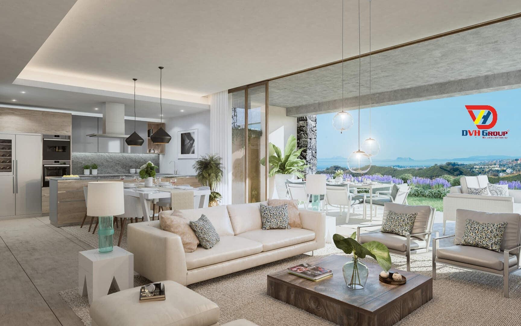 Thiết kế nội thất căn hộ chung cư tại Long Thành