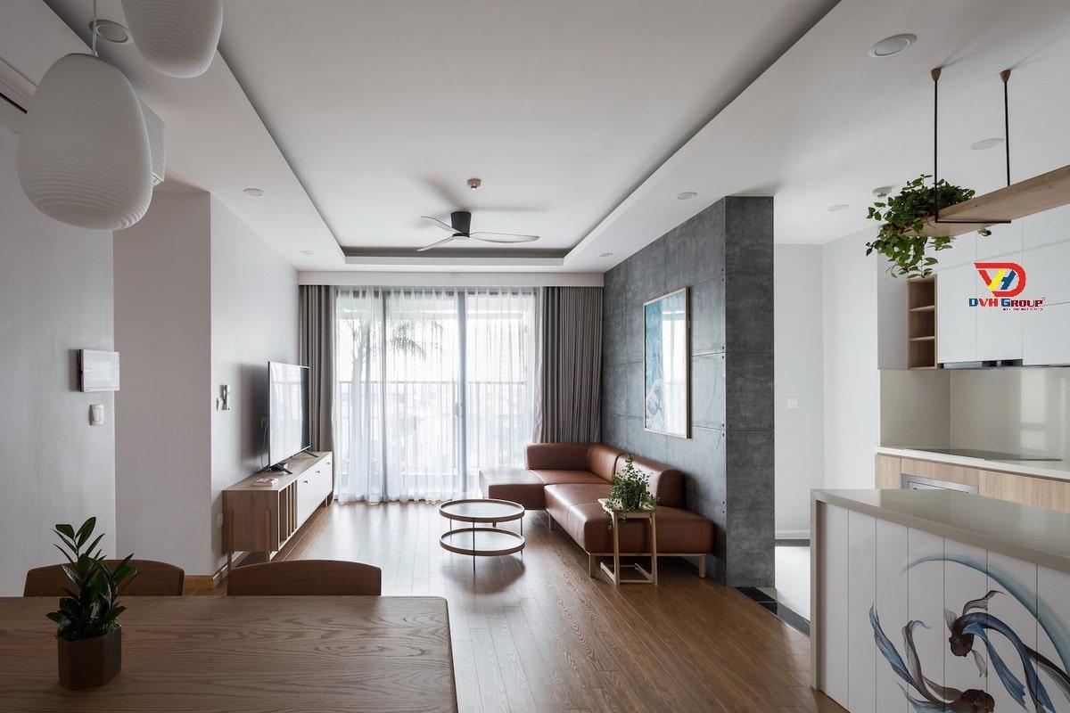 Thiết kế phòng khách theo phong cách Nhật Bản