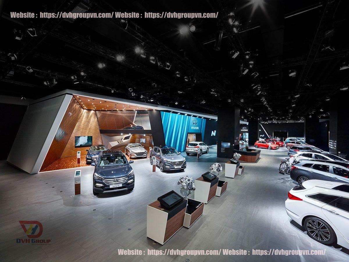Tiêu chí kĩ thuật showroom ô tô