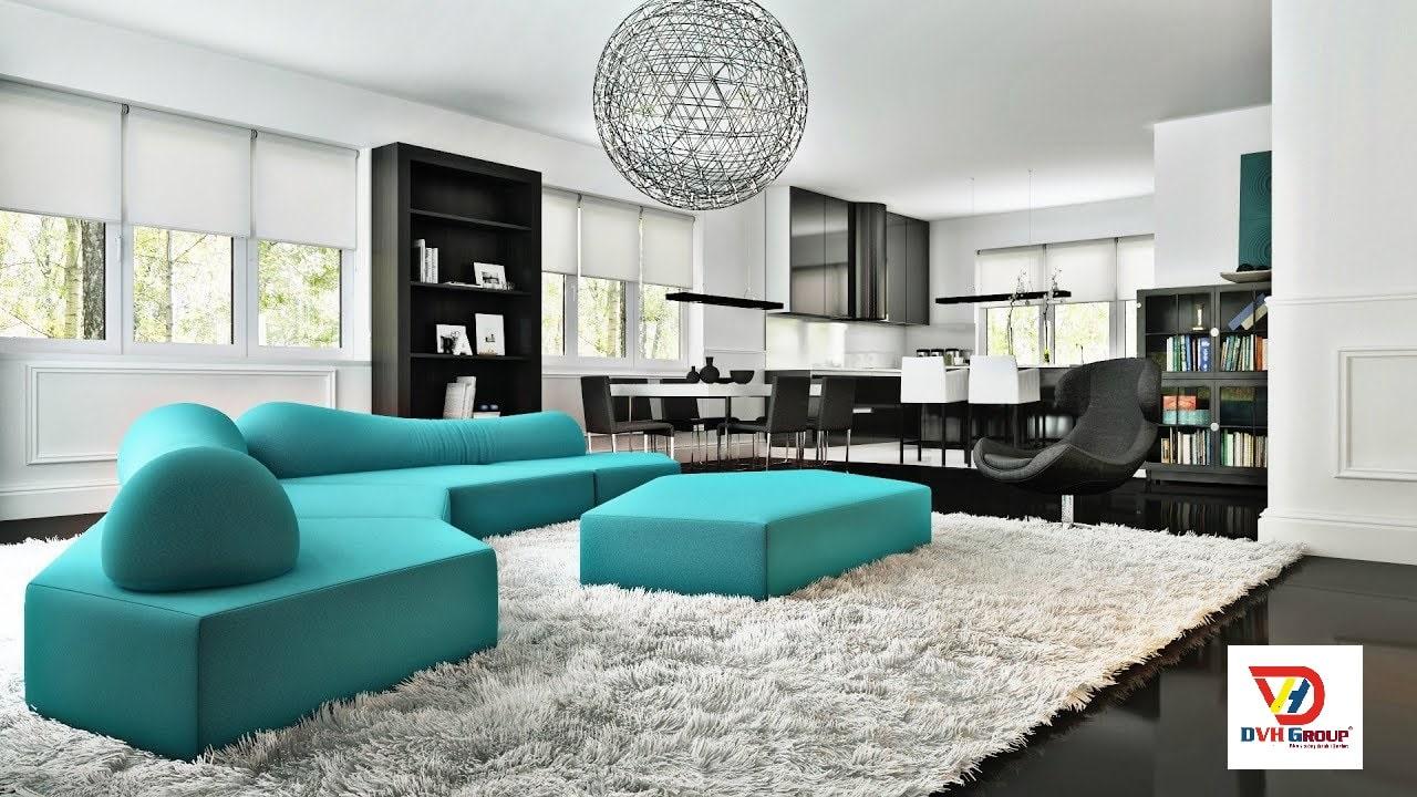 Thiết kế nội thất căn hộ chung cư tại quận 6