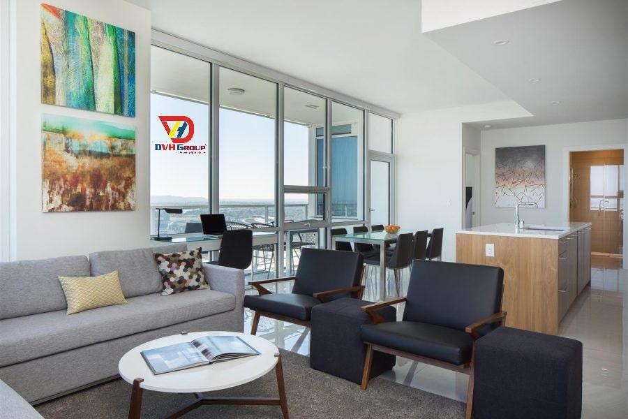 Thiết kế nội thất căn hộ chung cư tại quận 11