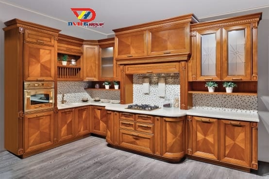 Thiết kế nội thất căn hộ chung cư quận 9 - phòng bếp ăn