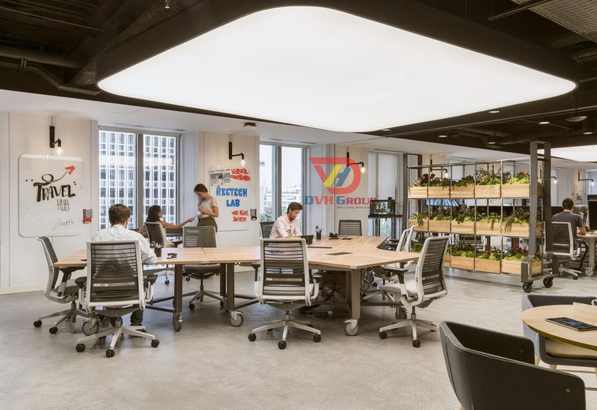 Thiết kế nội thất văn phòng tại quận 12