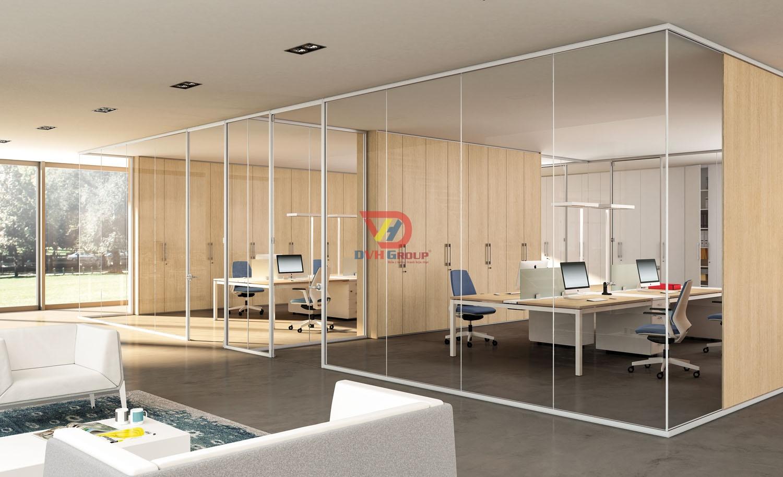 Thiết kế phòng làm việc khu dành cho nhân viên