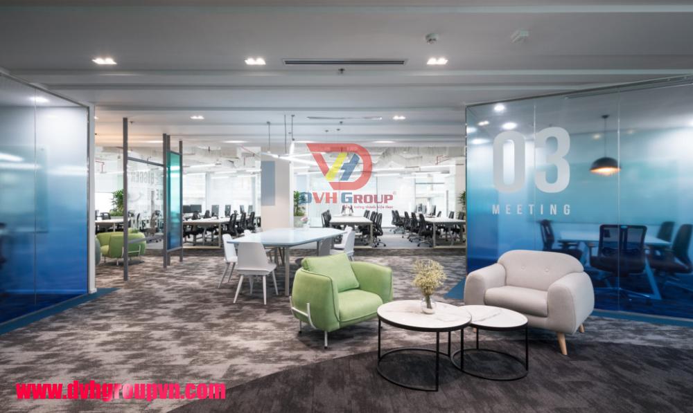 Thiết kế nội thất văn phòng tại quận 11