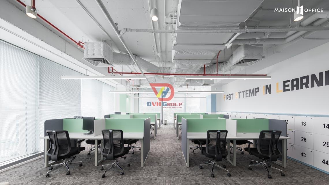 Thiết kế sảnh khu làm việc nhân viên