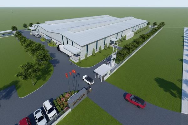 Thiết kế xây dựng nhà xưởng cho thuê tại KCN Dầu Giây
