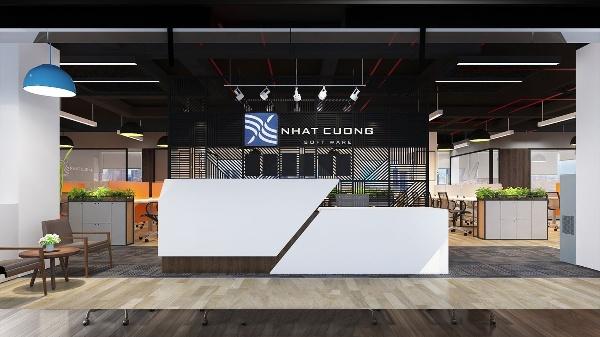 Thiết kế nội thất văn phòng Nhật Cường Software tại Hà Nội
