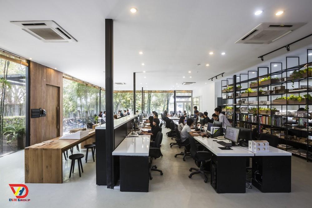 Thiết kế nội thất văn phòng tại quận 10