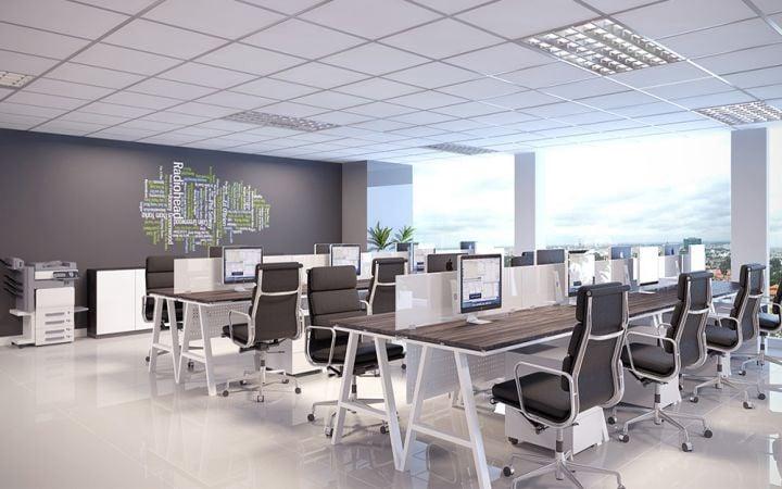 Thiết kế nội thất văn phòng tại quận 9