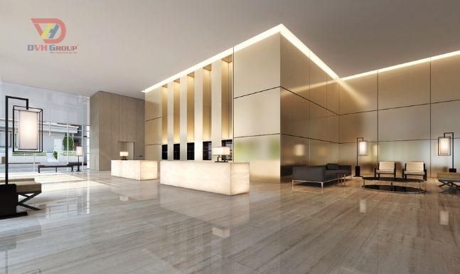 Thiết kế nội thất Quầy lễ tân
