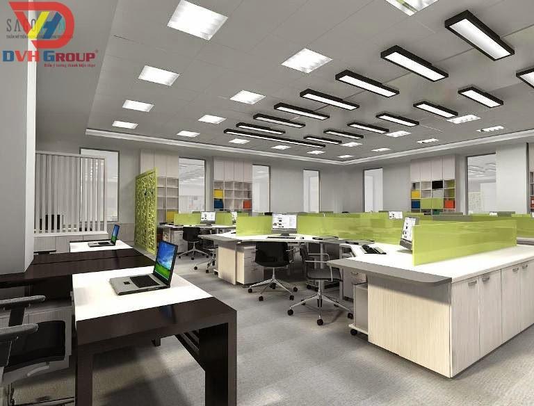 Thiết kế nội thất văn phòng tại quận Tân Bình