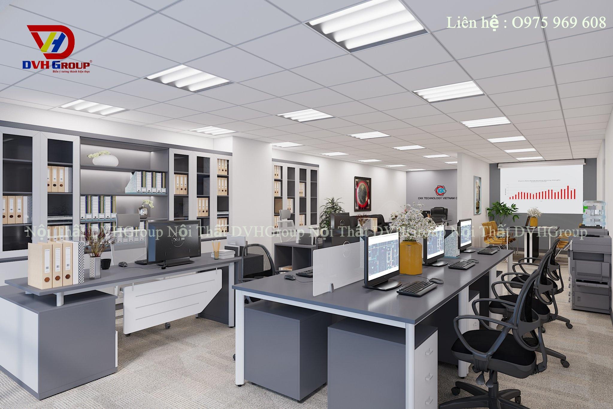 Thiết kế nội thất văn phòng tại quận Gò Vấp