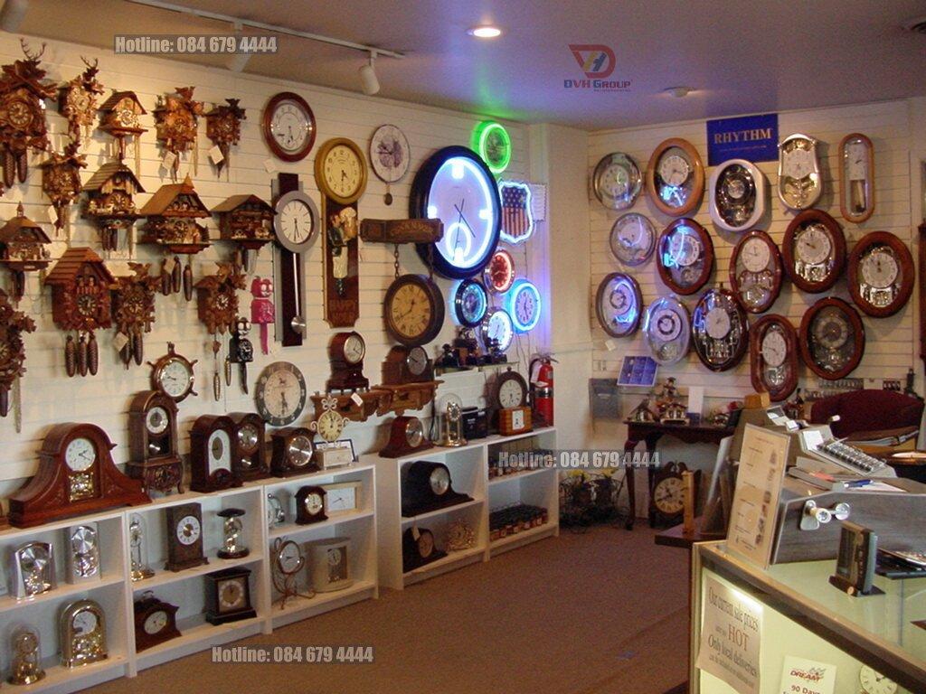 Thiết kế nội thất showroom cửa hàng tại Đồng Nai