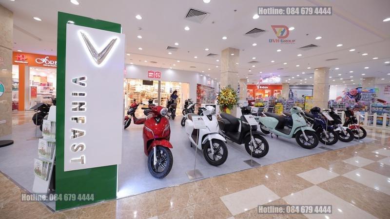 Tư vấn thiết kế nội thất showroom cửa hàng xe máy tại quận Phú Nhuận