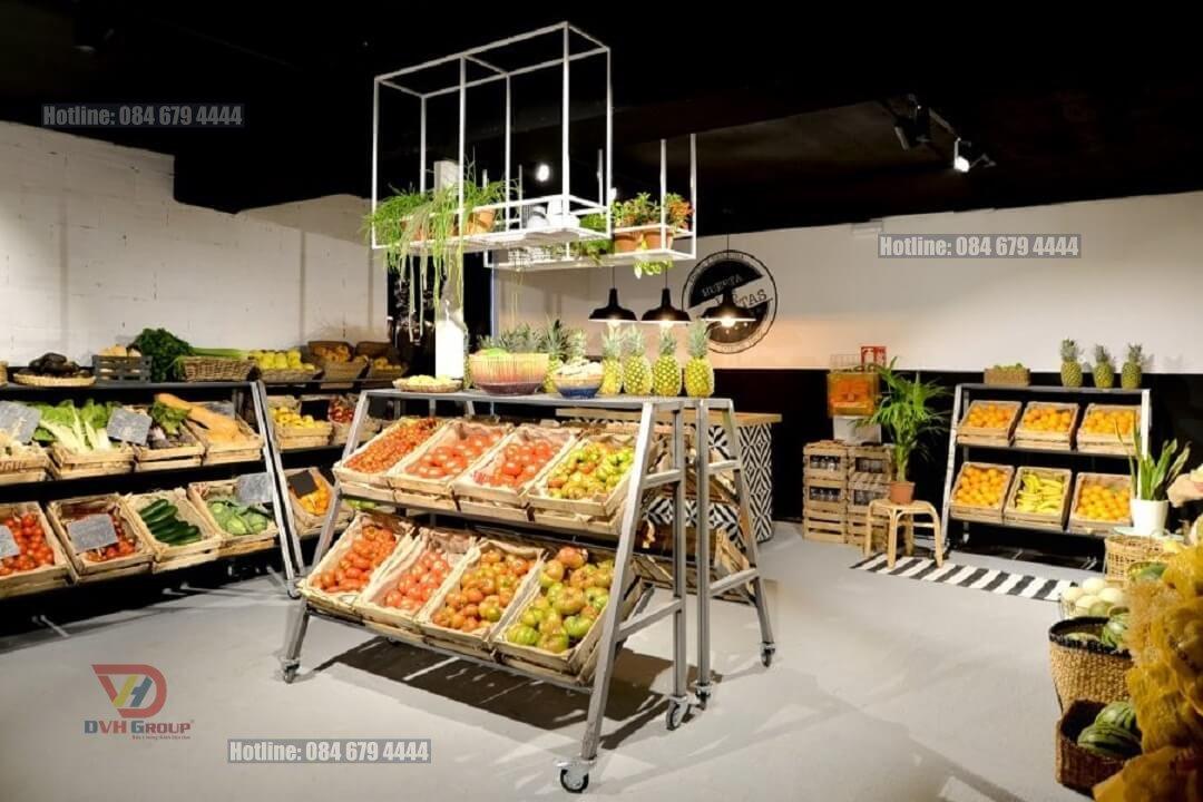 Thiết kế nội thất showroom cửa hàng tại quận Tân Phú