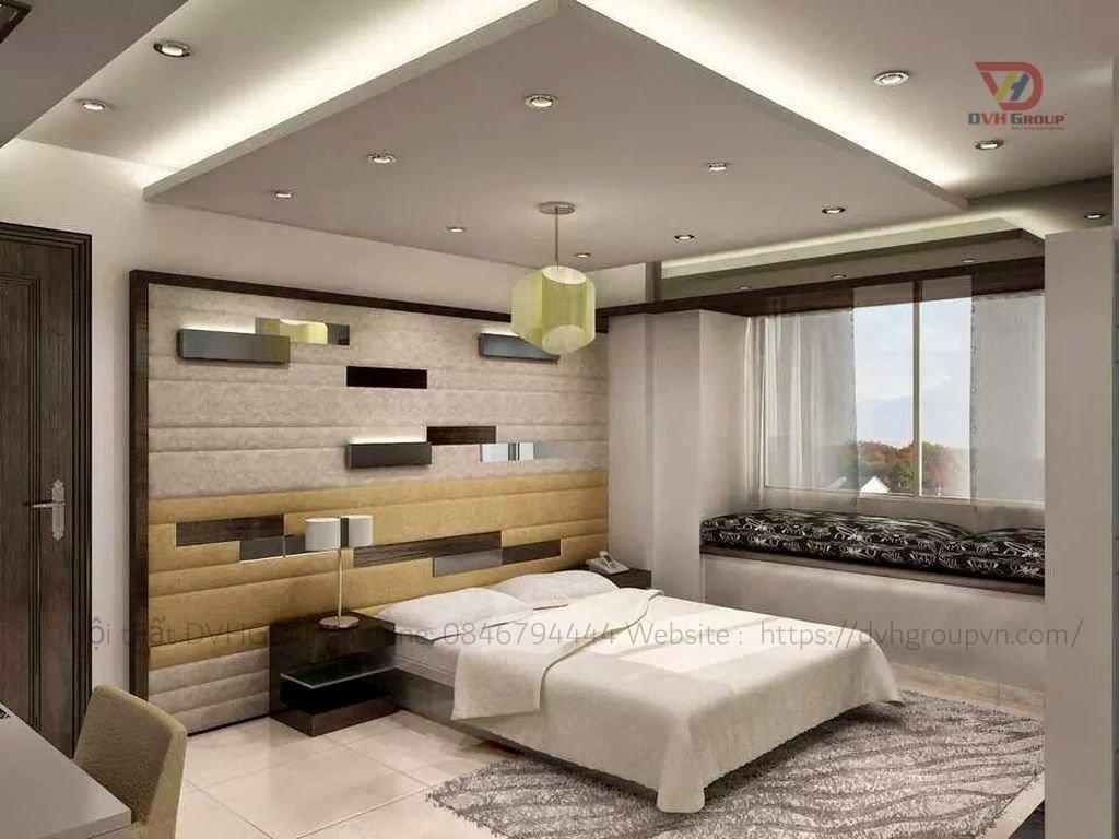 Thi công thiết kế nội thất căn hộ chung cư - Phòng ngủ