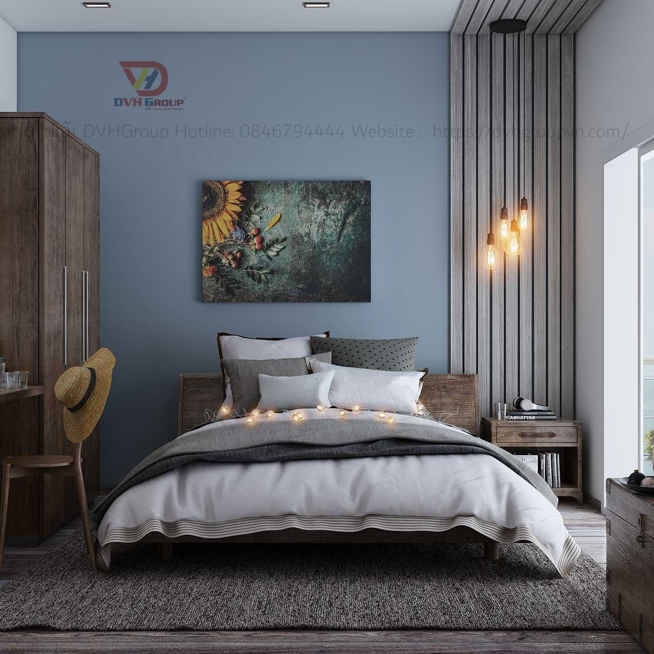 Thiết kế nội thất căn hộ chung cư - Phòng ngủ