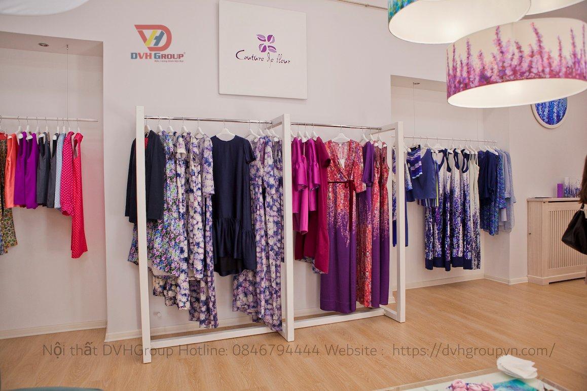 Thiết kế nội thất showroom cửa hàng thời trang