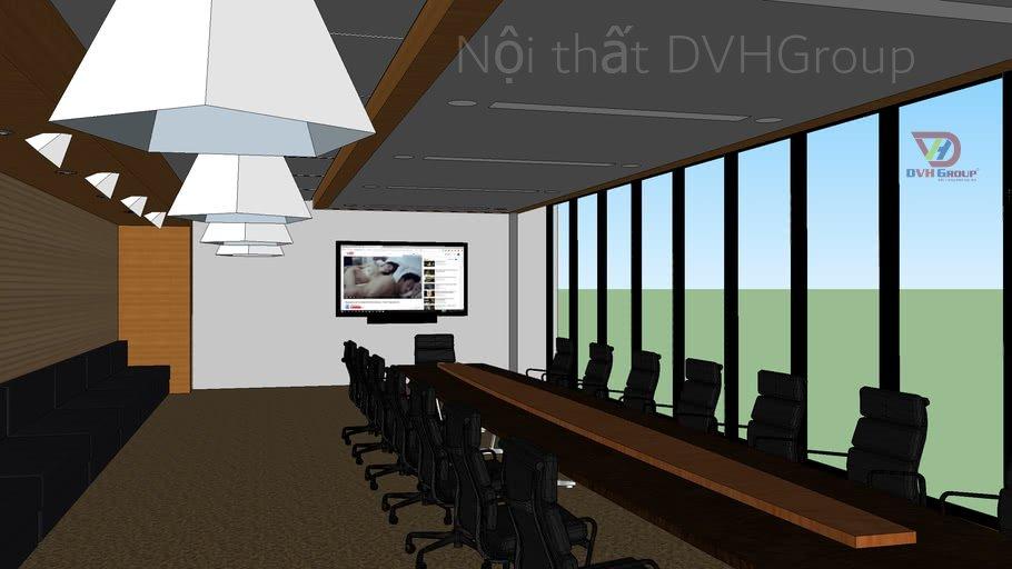 Thiết kế 3D phòng họp