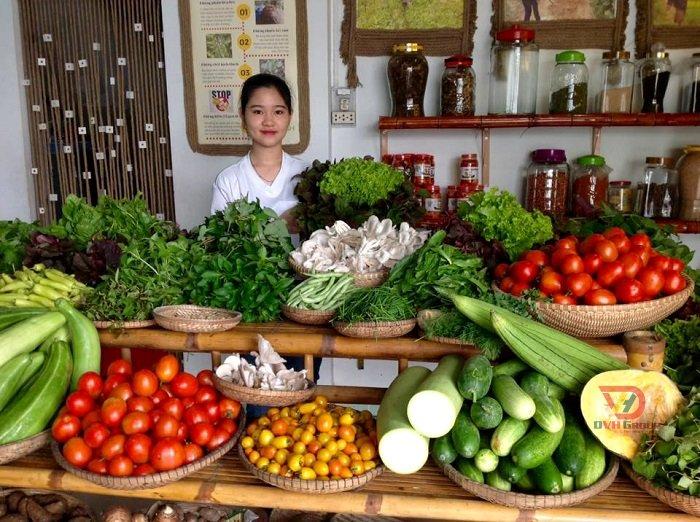 Mẫu thiết kế cửa hàng thực phẩm sạch ở Bình Thạnh