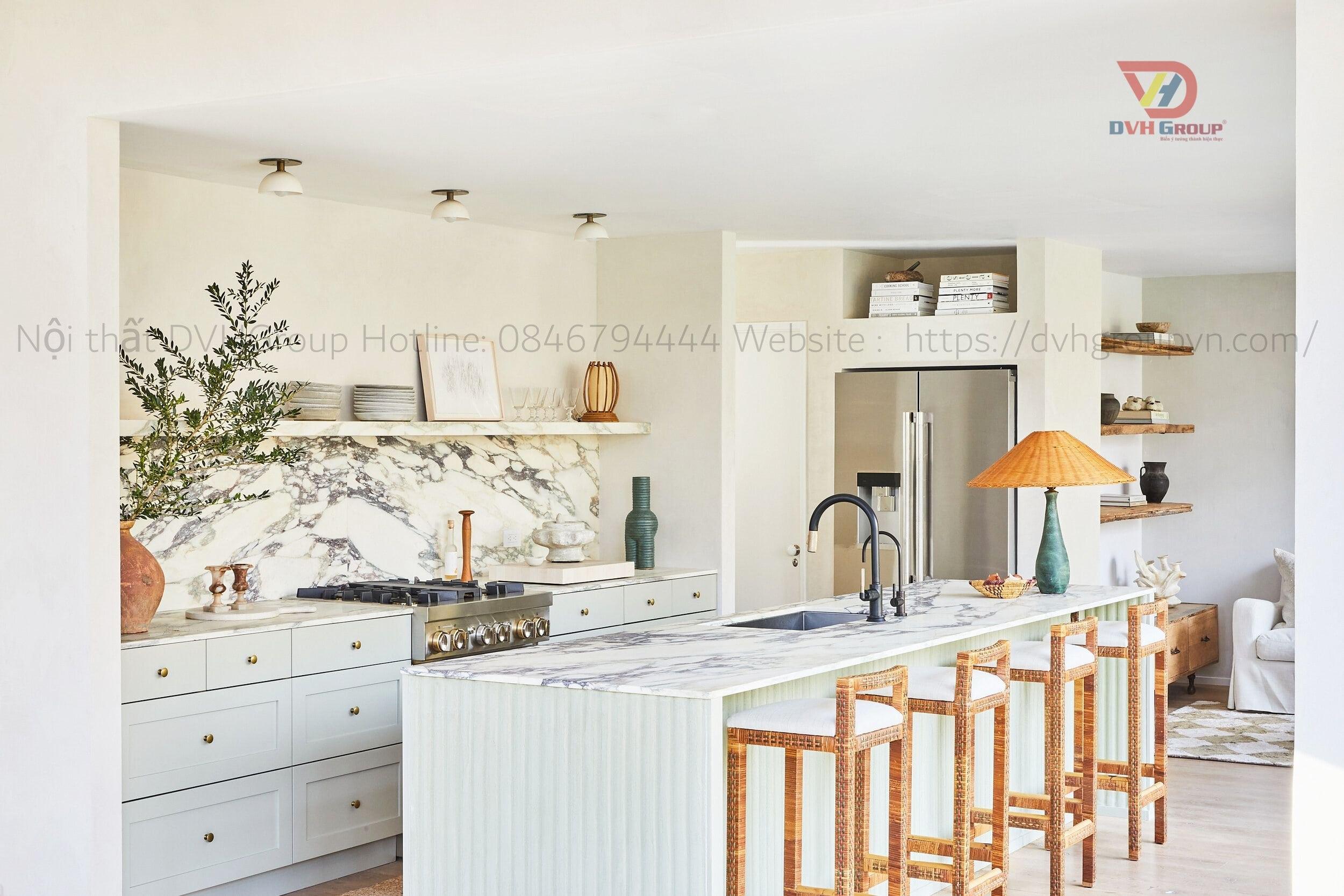 Công Ty Thiết Kế Nội Thất Tại Quận Gò Vấp - Nội Thất DVHGroup - Thiết kế nội thất phòng bếp