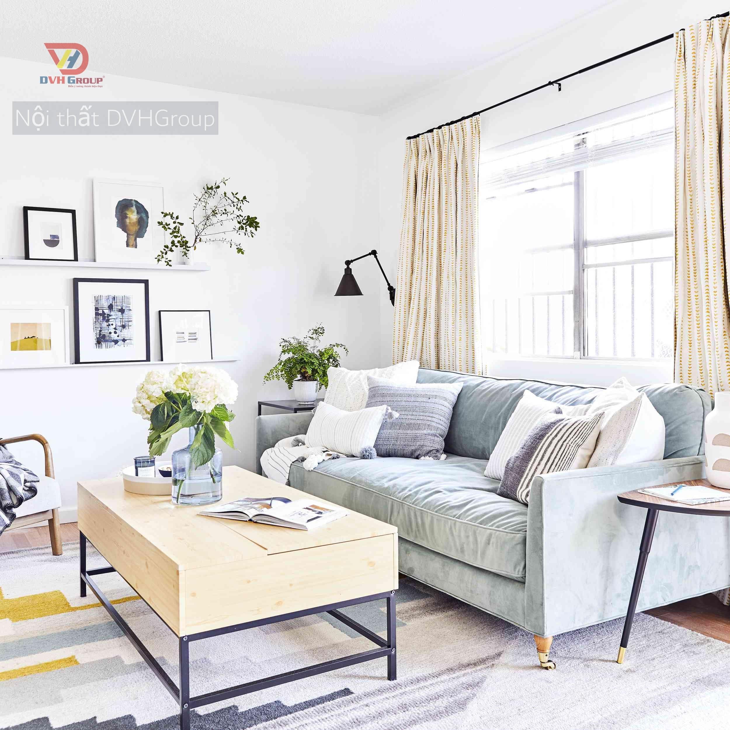 Tạo không gian mở khi thiết kế nội thất căn hộ chung cư tại quận 7