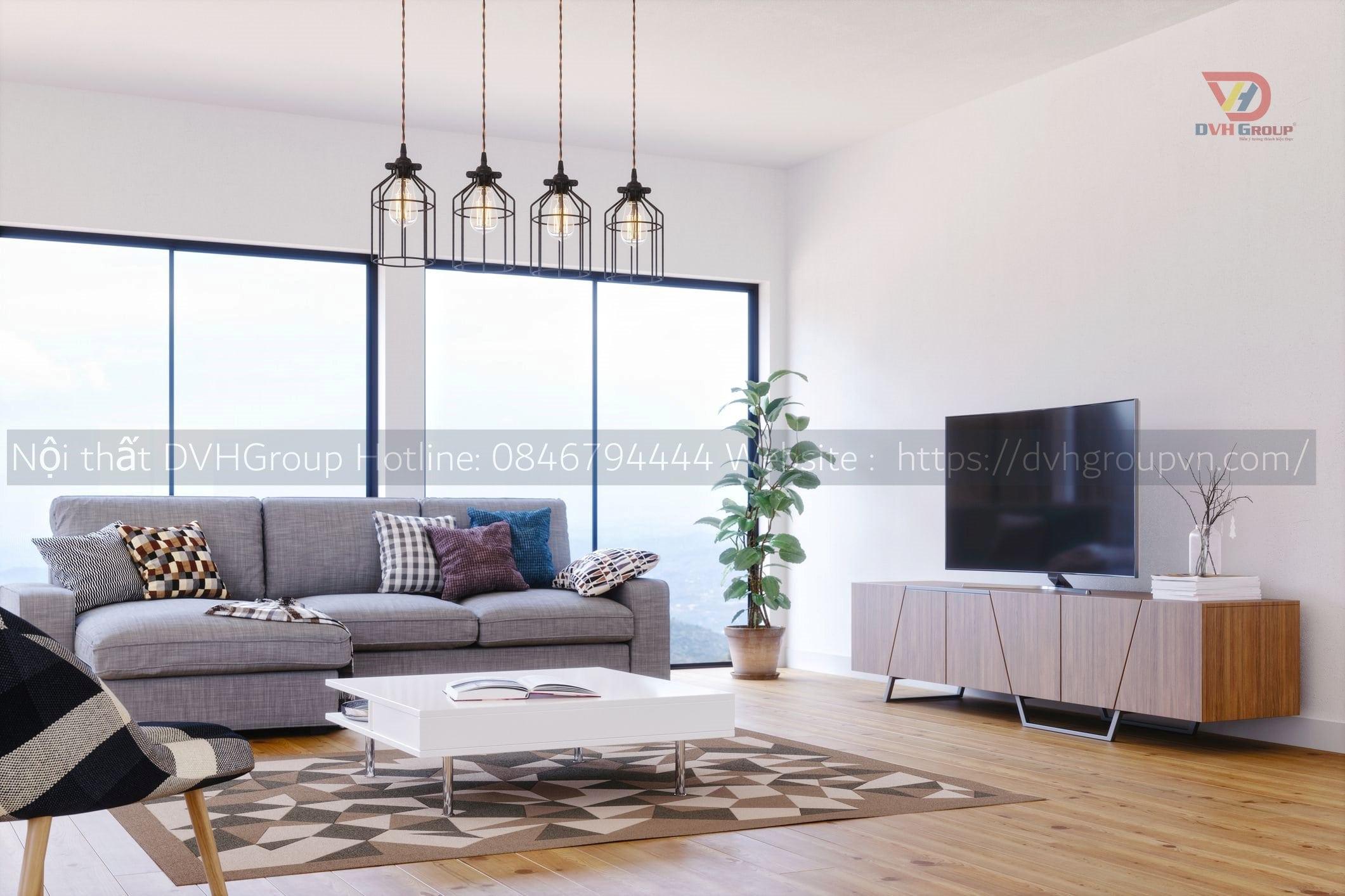Thiết kế nội thất không gian trong nhà ở, căn hộ, chung cư