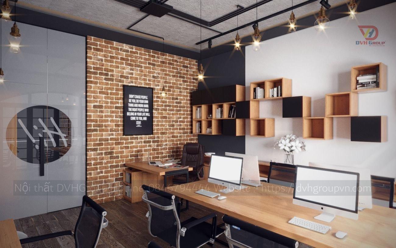 Thiết kế nội thất văn phòng - Khu làm việc chung