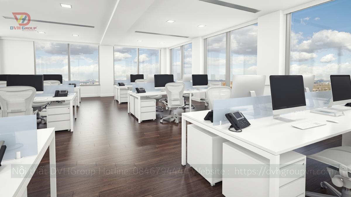 Thiết kế nội thất văn phòng chuyên nghiệp - Nội thất DVHGroup