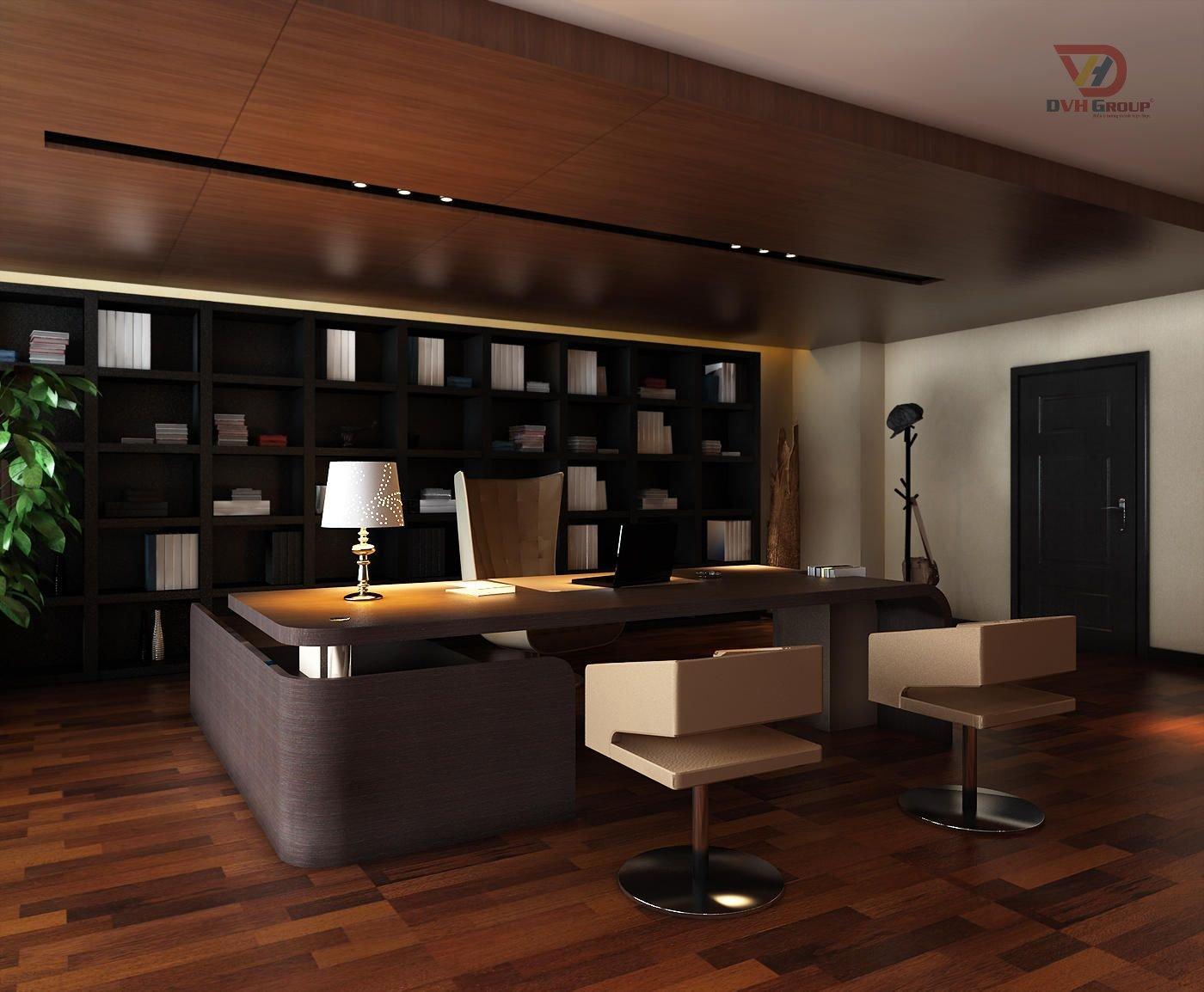 Thiết kế nội thất văn phòng - Phòng giám đốc