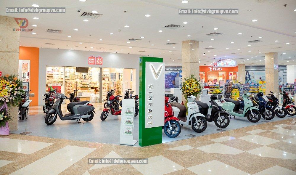 Thiết kế nội thất showroom cửa hàng tại quận Phú Nhuận