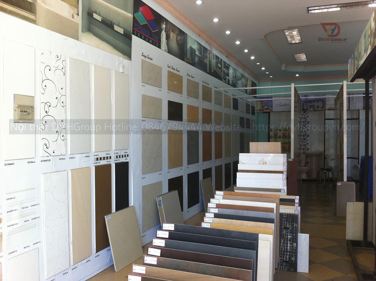 Công Ty Thiết Kế Nội Thất Tại TP Dĩ An - Showroom cửa hàng gạch ốp lát