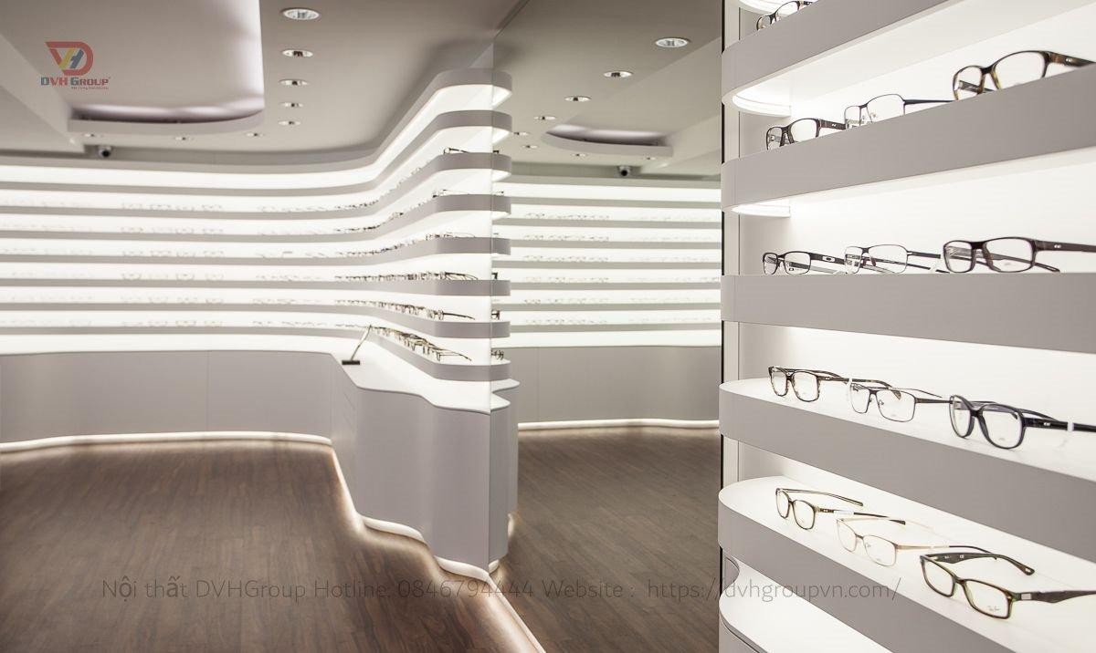 Showroom cửa hàng kính mắt