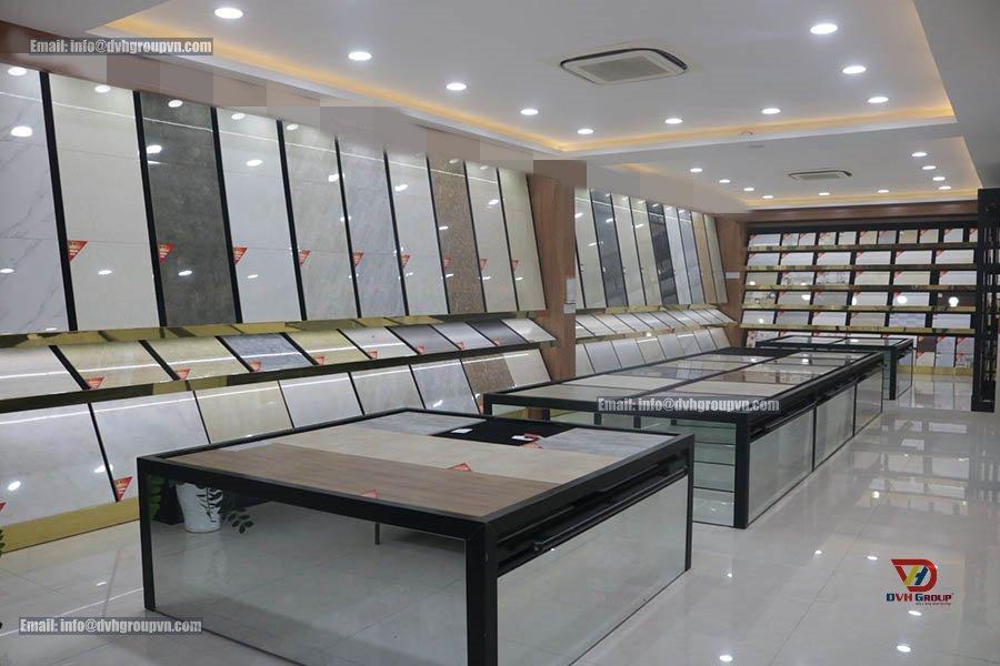 Thiết kế nội thất showroom cửa hàng tại Bình Dương