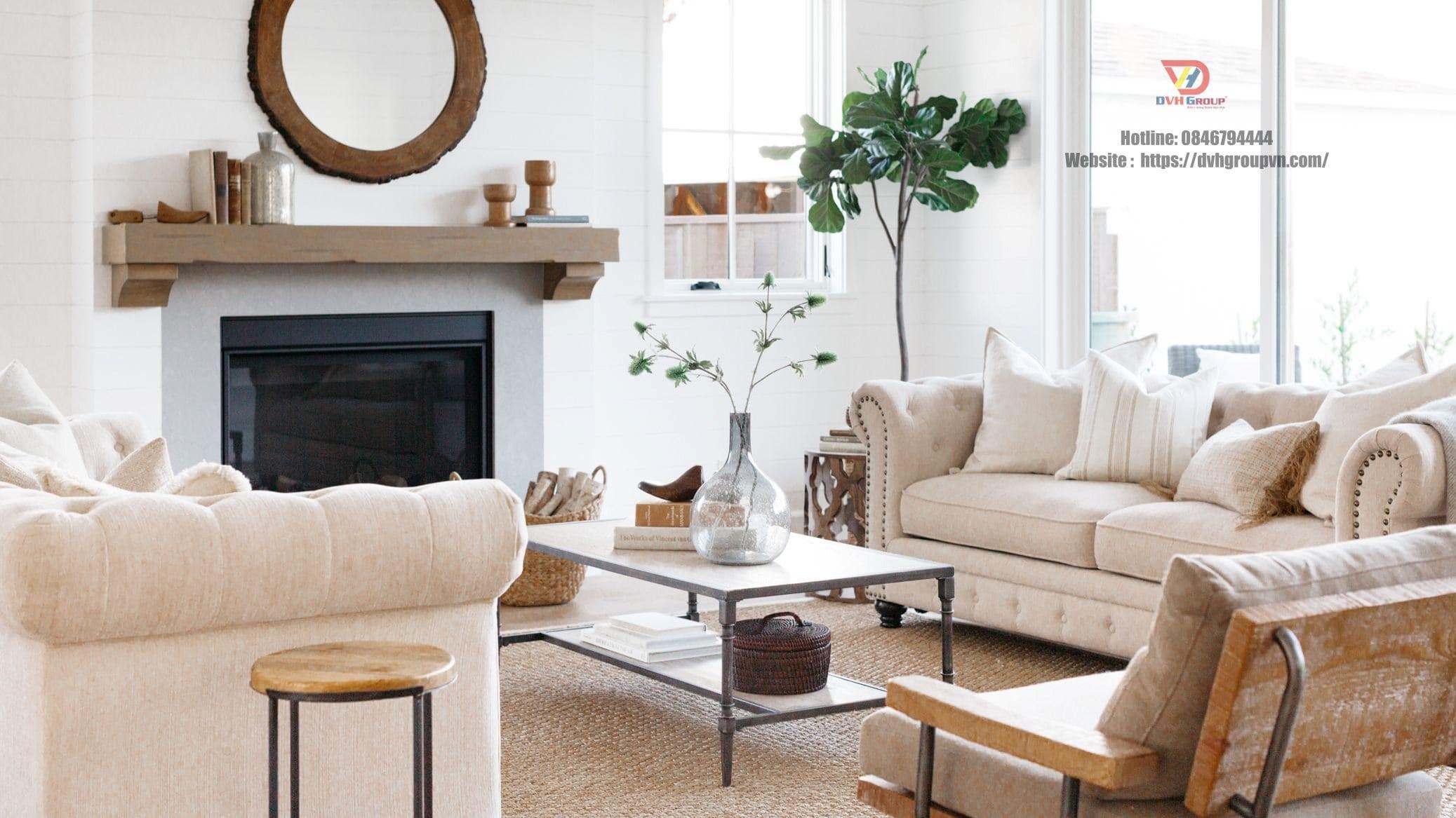 Công ty thiết kế nội thất tại Long Thành - Nội thất DVHGroup