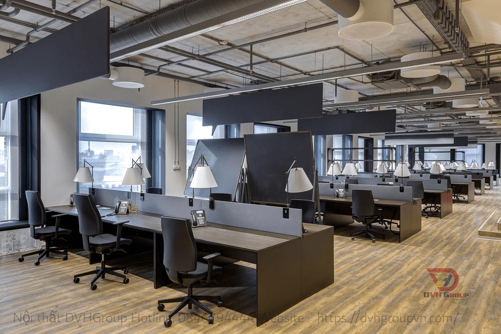 Đảm bảo ánh sáng cho văn phòng làm việc