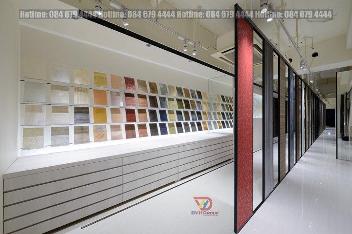 Thiết kế nội thất showroom cửa hàng vật liệu xây dựng tại TP HCM