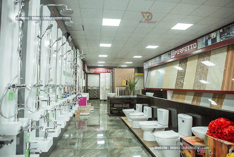 Những yếu tố tạo nên một thiết kế nội thất showroom cửa hàng gạch ốp lát đẹp
