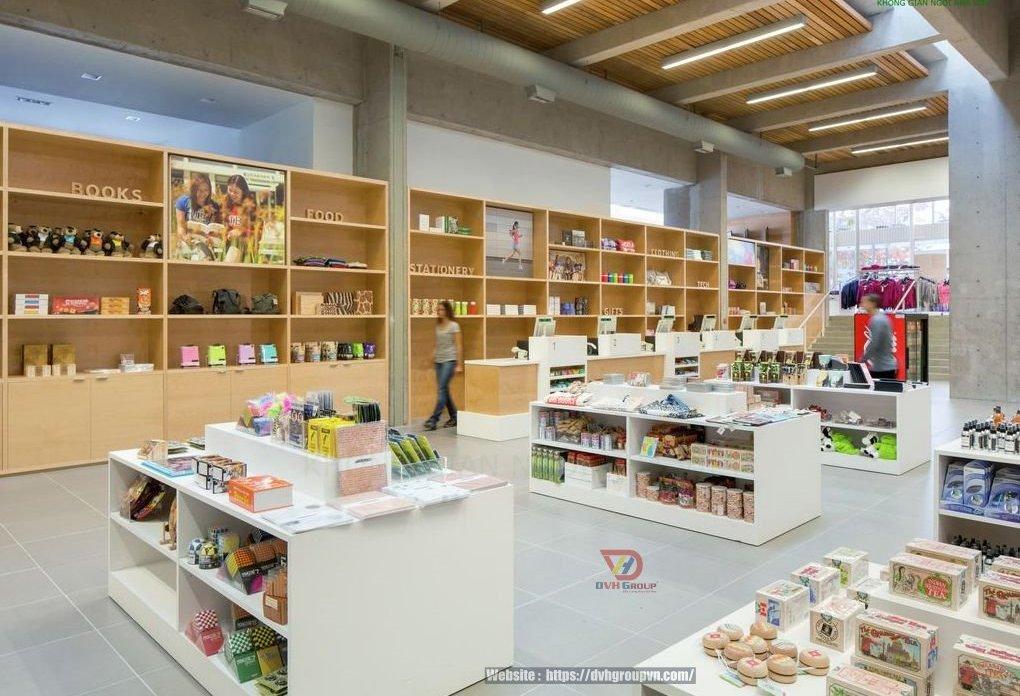 Thiết kế nội thất showroom cửa hàng tại Long Thành